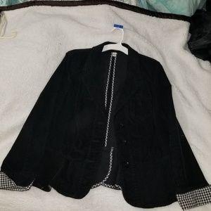 St John's Bay corduroy blazer, size L
